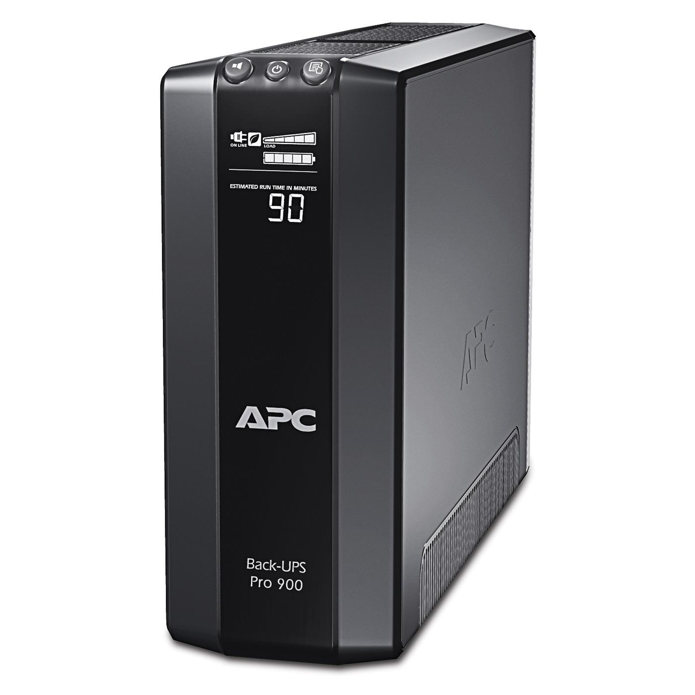 Onduleur APC Back-UPS Pro 900G APC Back-UPS Pro 900G - Onduleur line-interactive 900 VA (USB / Série) - Prises FR