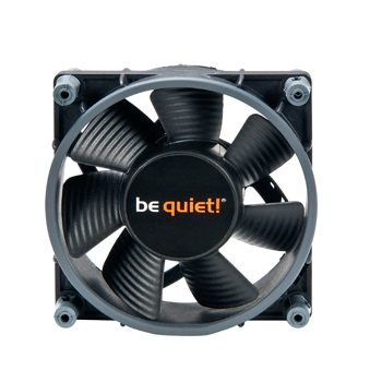 Ventilateur boîtier be quiet! Shadow Wings 80 mm Low-Speed Ventilateur de boîtier 80 mm (Garantie 3 ans constructeur)