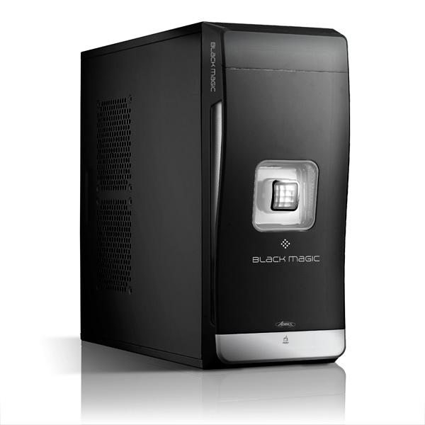 Boîtier PC Advance Black Magic Blanc + un Lecteur de Cartes Flash Offert Boîtier Moyen tour