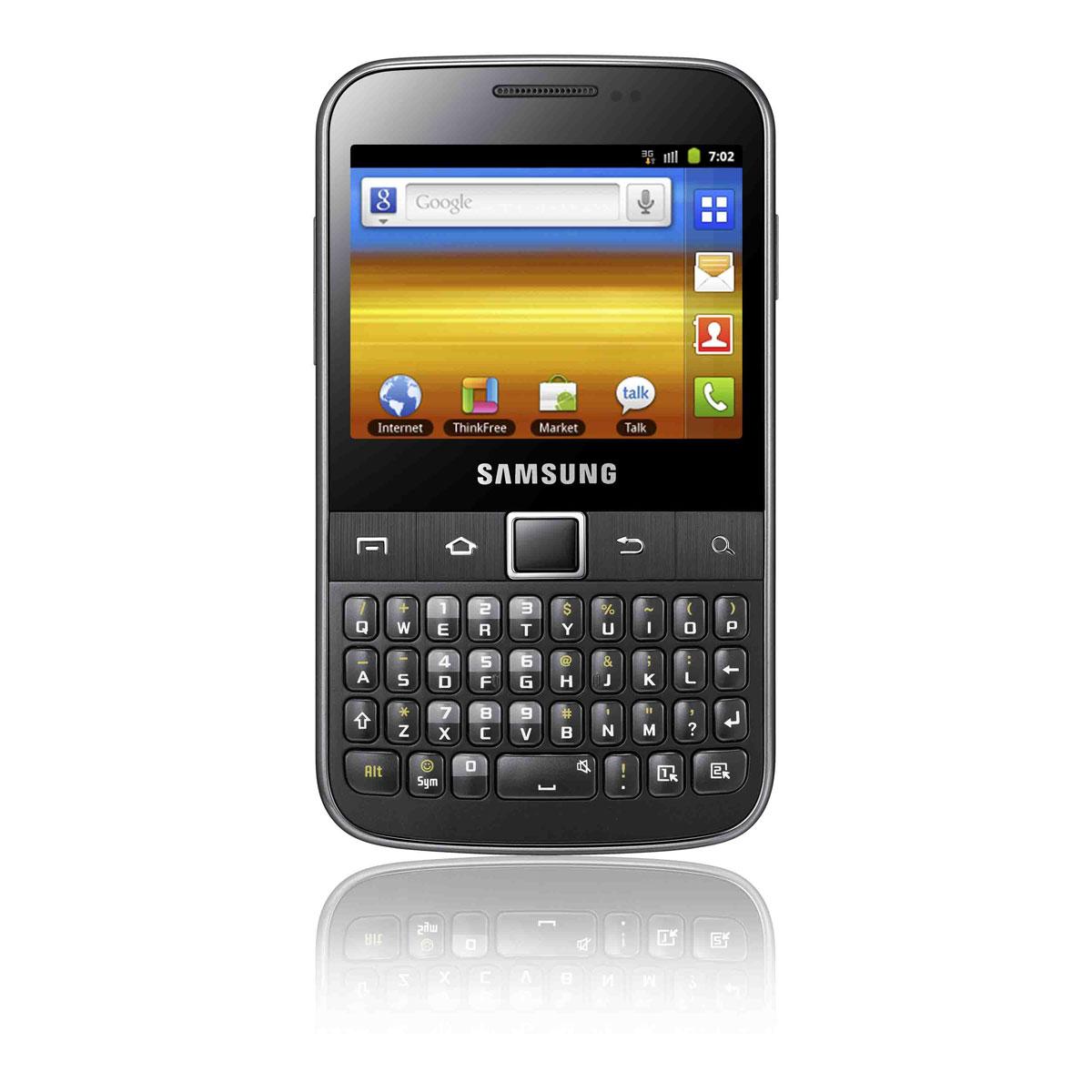 Samsung Galaxy Y Pro Gt B5510 Noir Mobile Amp Smartphone