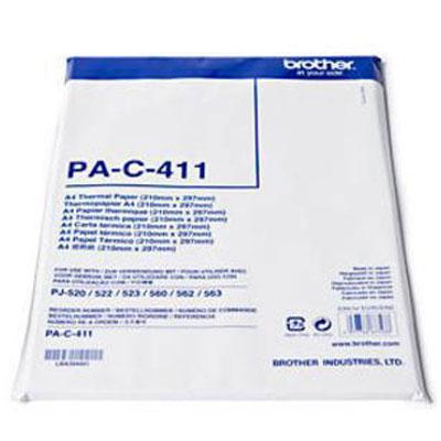 Papier imprimante Brother PA-C-411 Papier thermique format A4 - 100 feuilles
