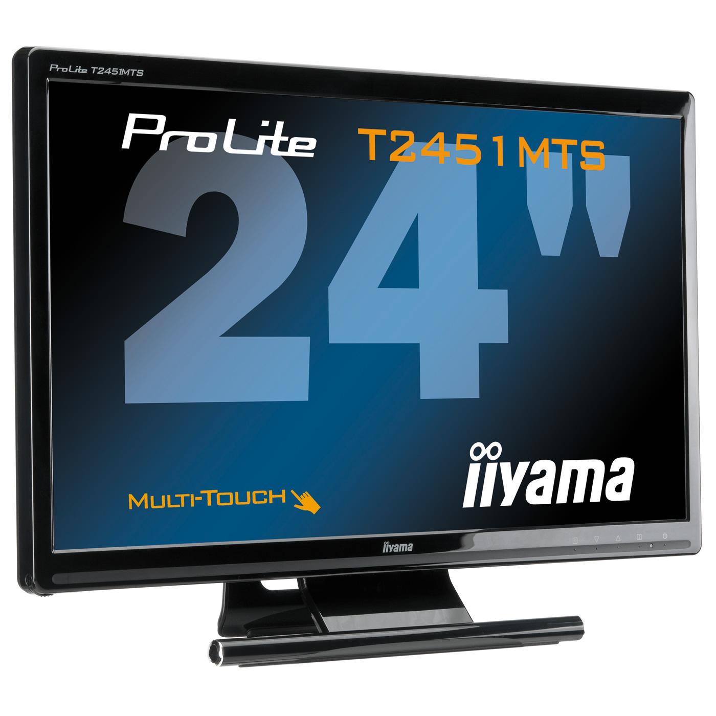 iiyama 23 6 led tactile prolite t2451mts 1 ecran pc. Black Bedroom Furniture Sets. Home Design Ideas