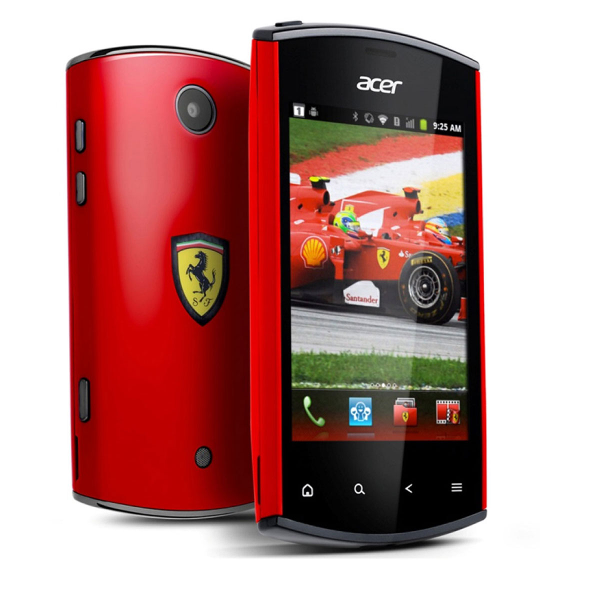 Acer Liquid Mini E310 Ferrari Special Edition Mobile