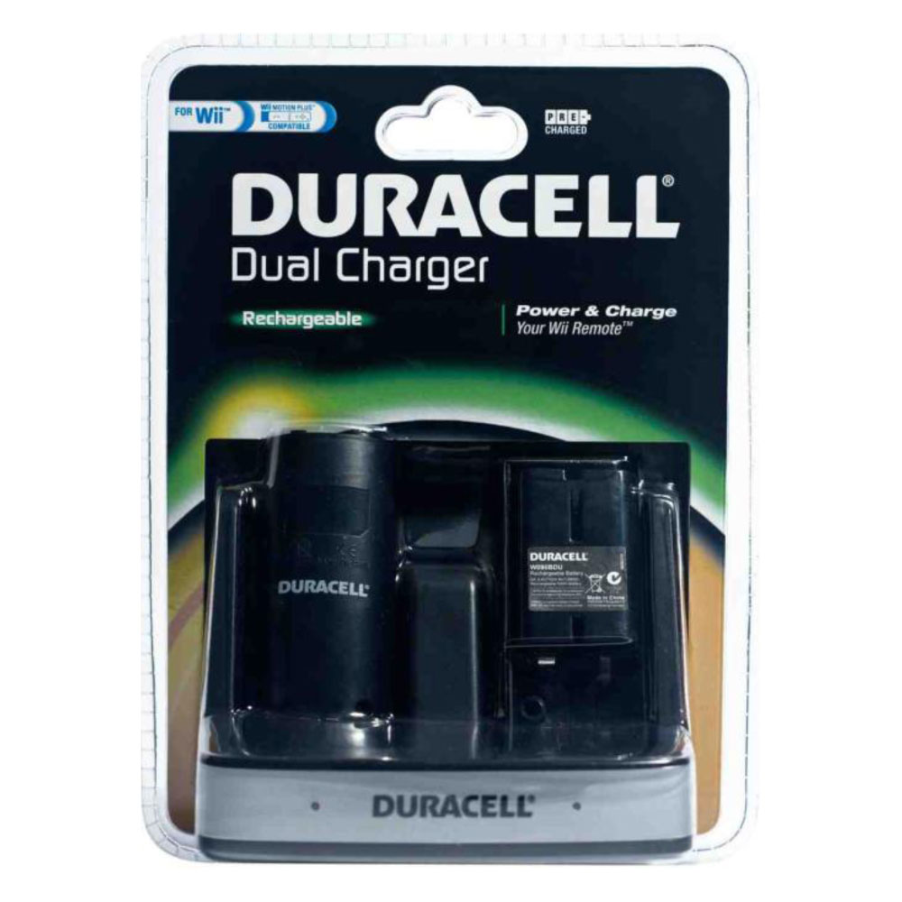 duracell dual charger wii accessoires wii duracell sur. Black Bedroom Furniture Sets. Home Design Ideas