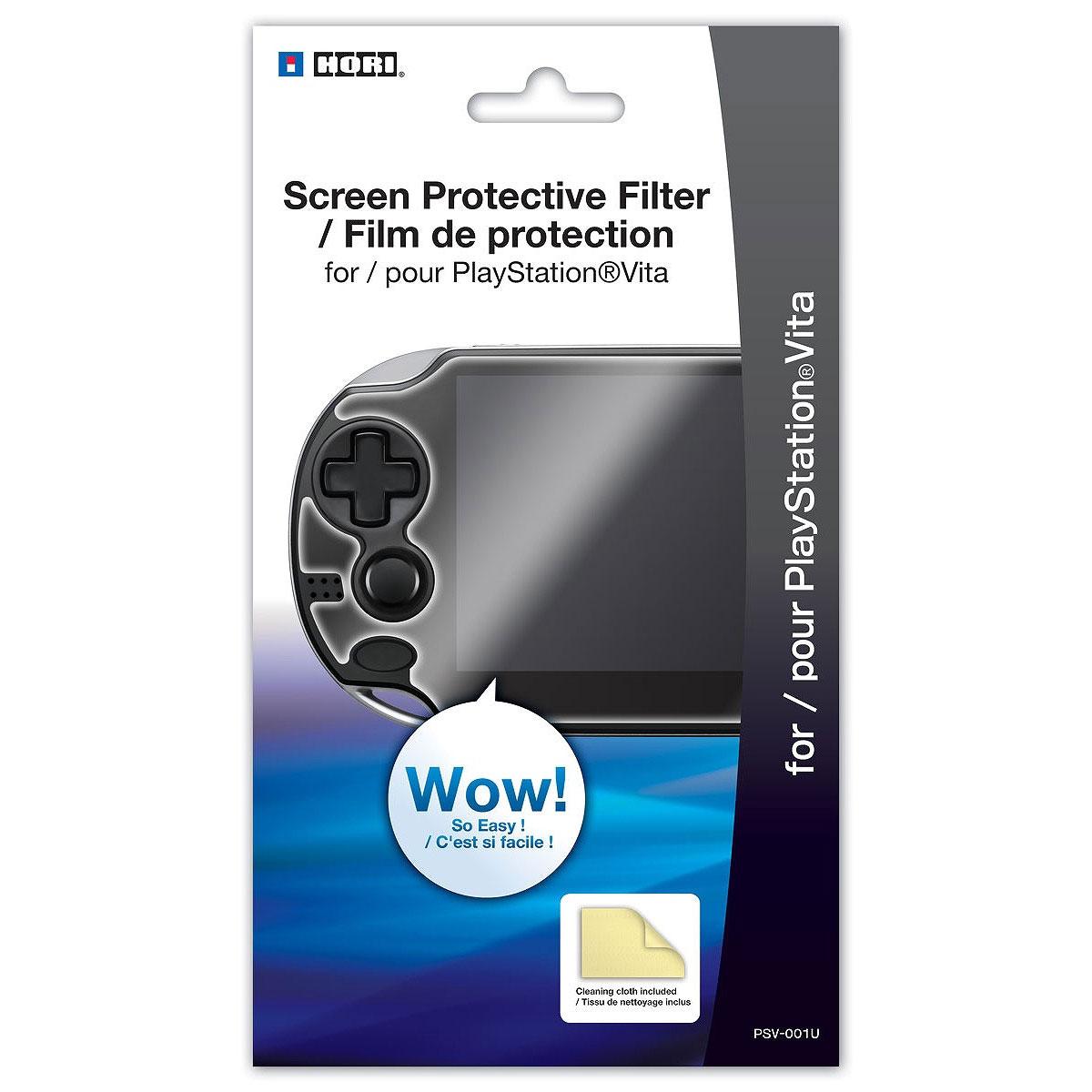 Accessoires PS Vita Hori Film Protection Ecran (PS Vita) Film protecteur pour PS Vita