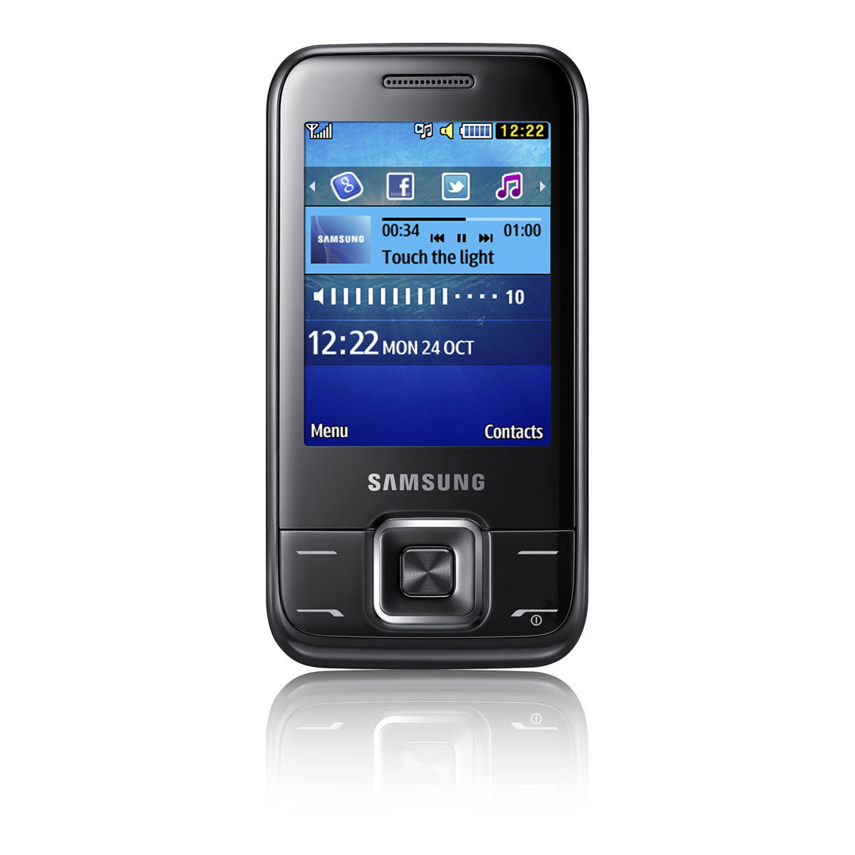 samsung e2600 noir mobile smartphone samsung sur. Black Bedroom Furniture Sets. Home Design Ideas