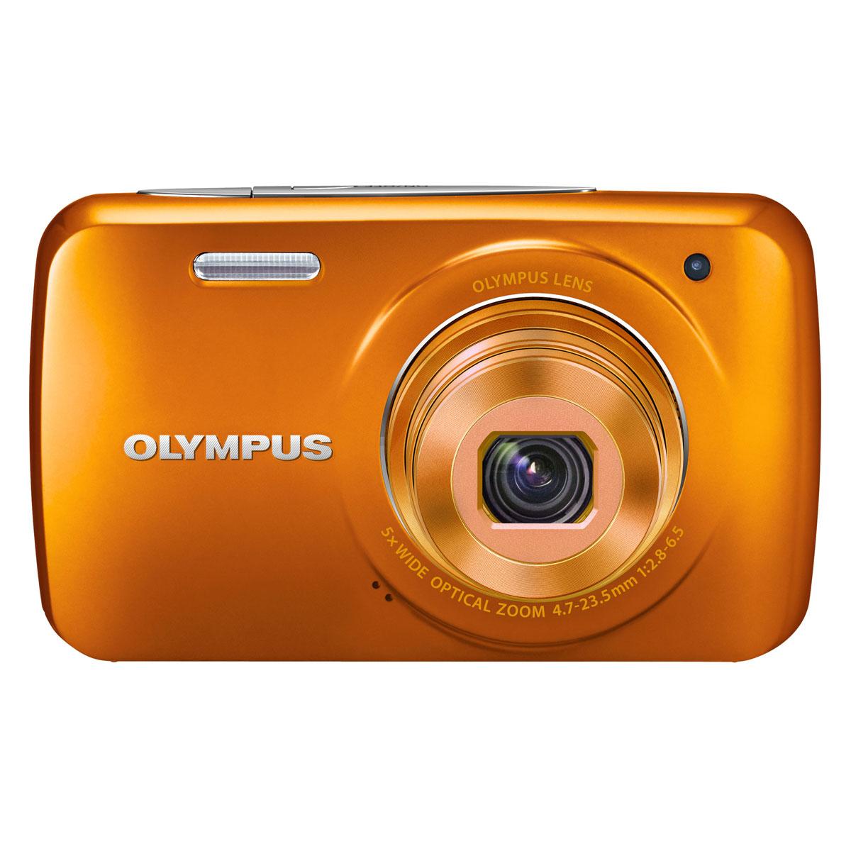 olympus vh 210 orange appareil photo num rique olympus. Black Bedroom Furniture Sets. Home Design Ideas