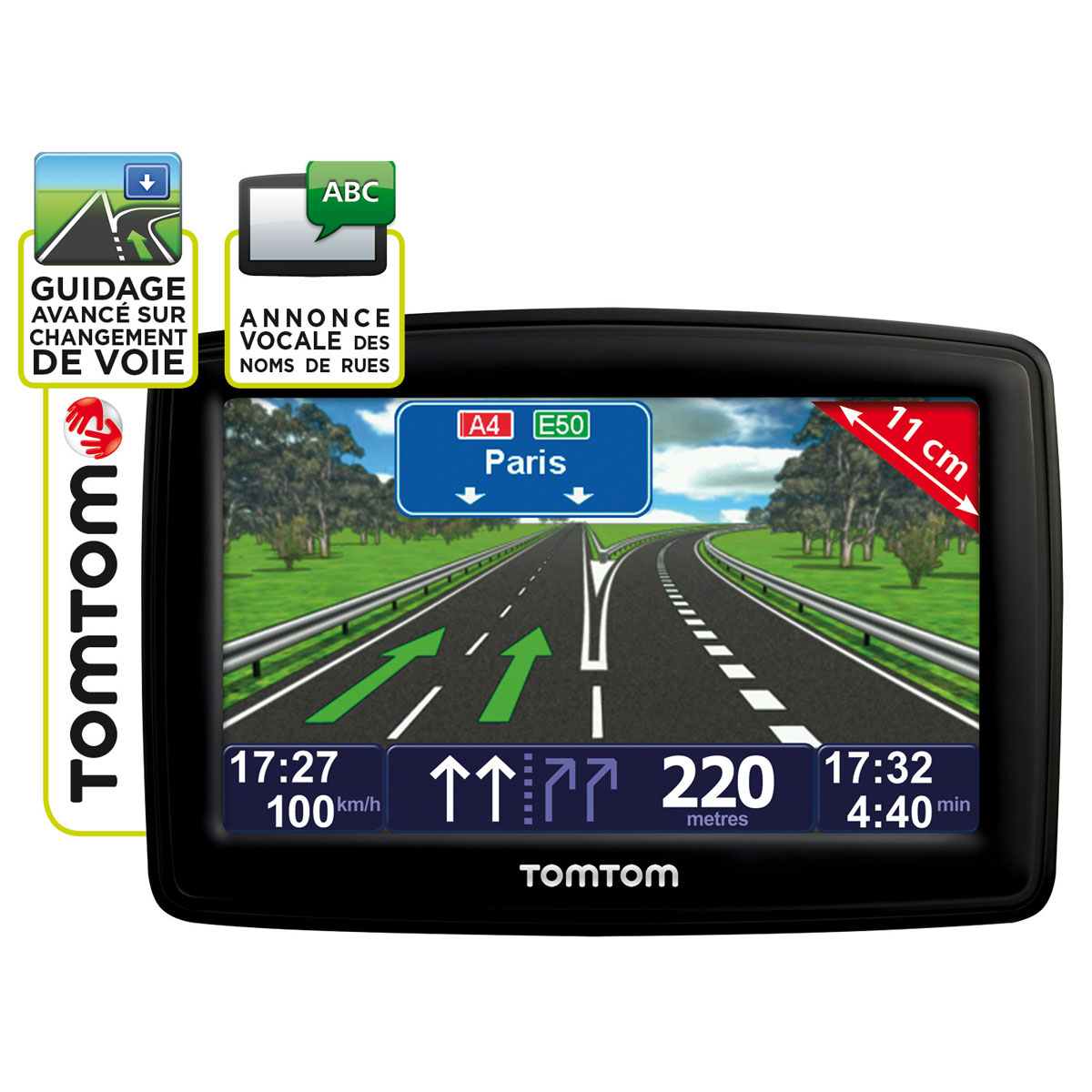 carte europe tomtom xl