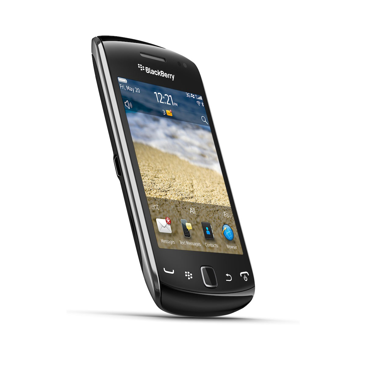 Blackberry curve 9380 noir mobile smartphone for Photo ecran blackberry
