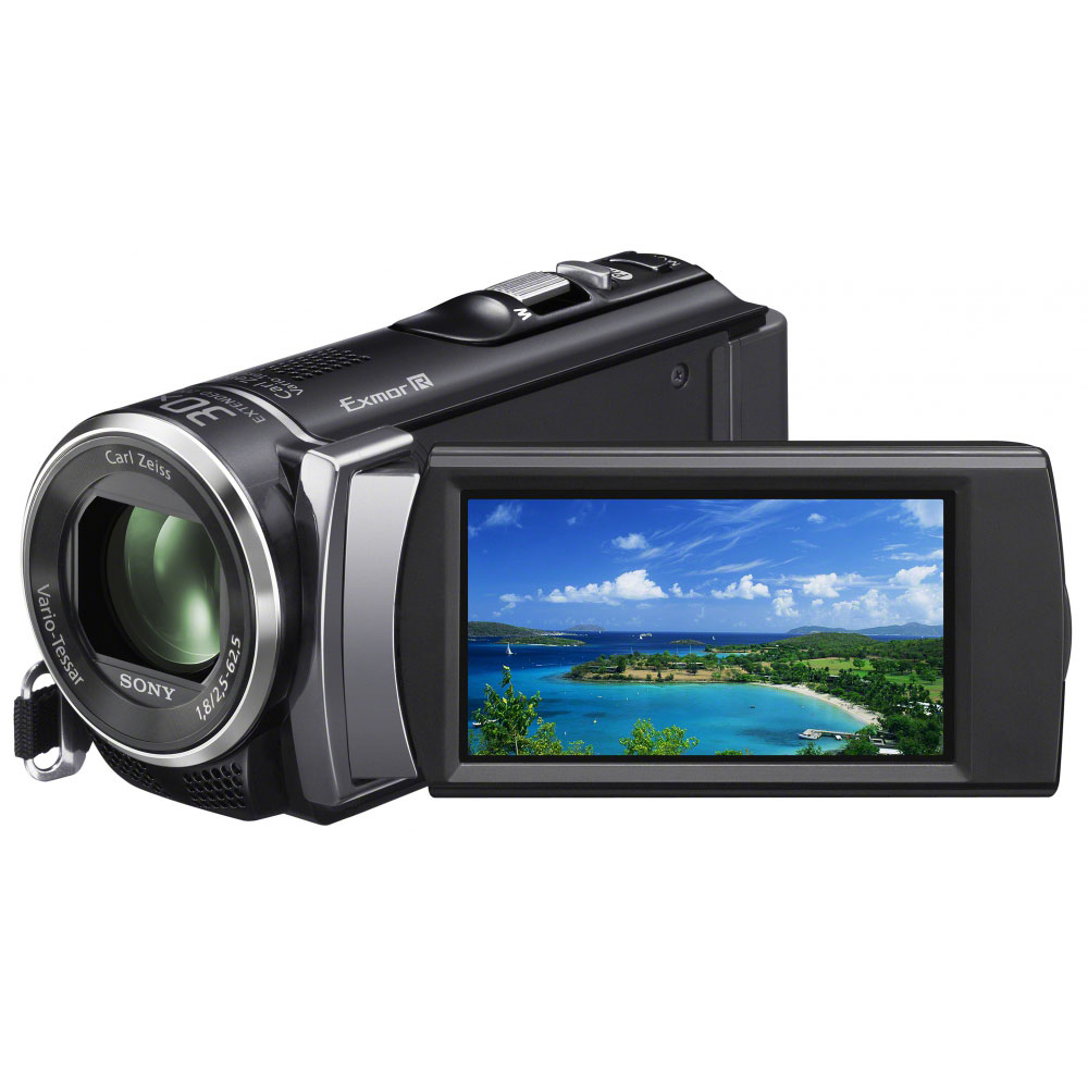 sony hdr cx200 noir cam scope num rique sony sur. Black Bedroom Furniture Sets. Home Design Ideas