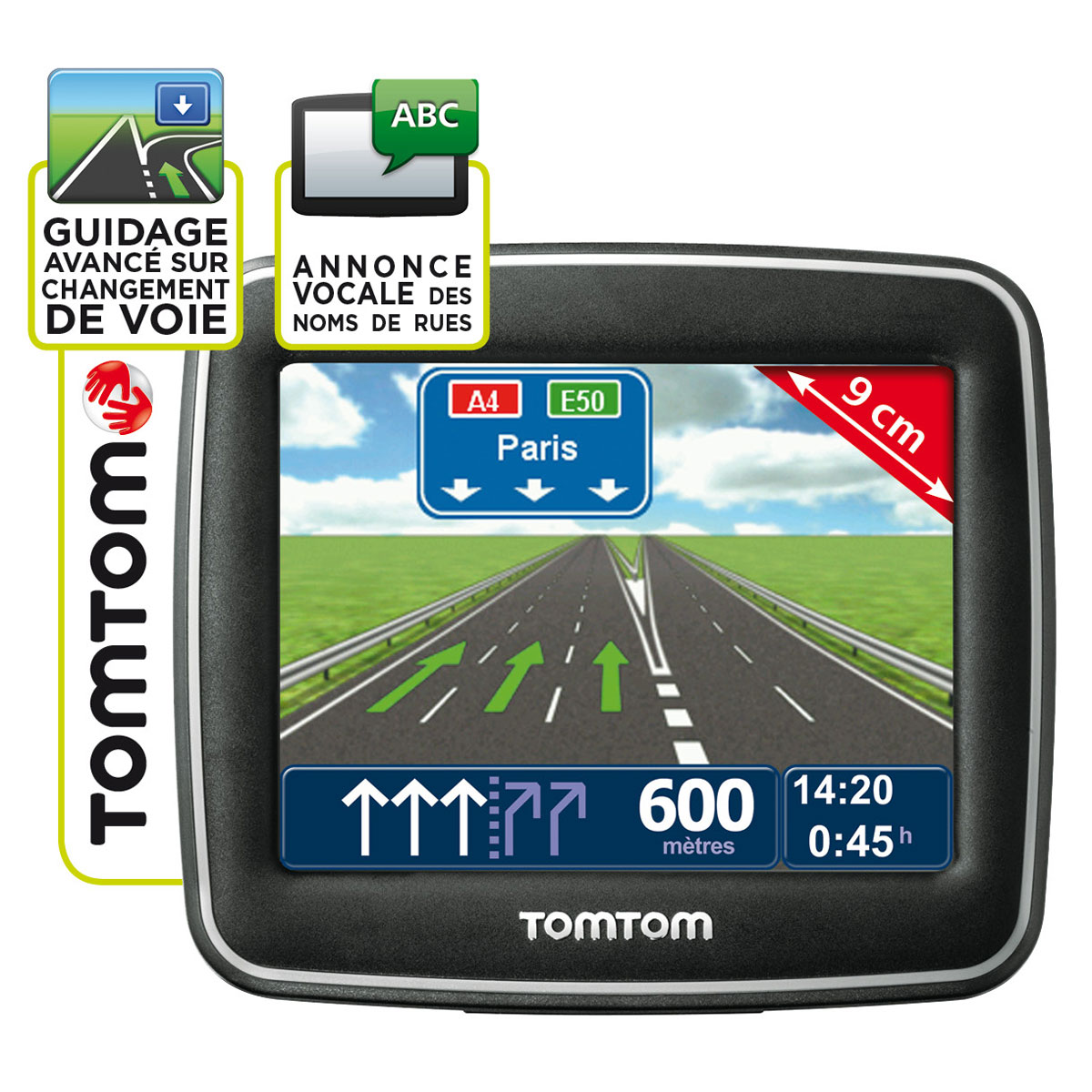tomtom start europe classic series 23 pays gps tomtom sur. Black Bedroom Furniture Sets. Home Design Ideas