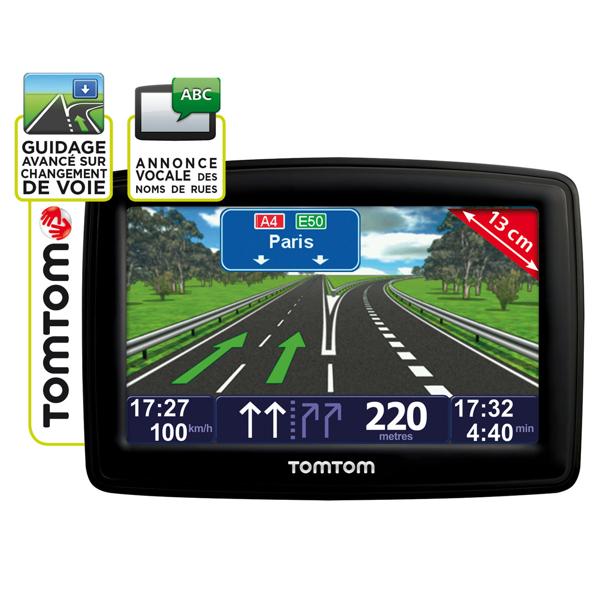 tomtom xxl europe classic series 23 pays gps tomtom sur. Black Bedroom Furniture Sets. Home Design Ideas