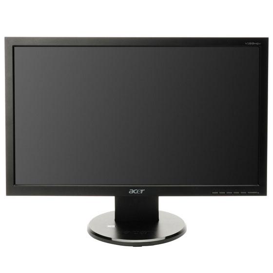 """Ecran PC Acer 18.5"""" LCD - V193HQVBb 1366 x 768 pixels - 5 ms - Format large 16/9 - Noir"""