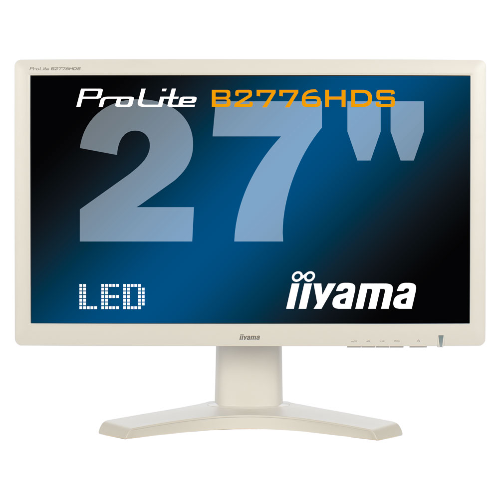 iiyama 27 led prolite b2776hds w1 ecran pc iiyama sur. Black Bedroom Furniture Sets. Home Design Ideas