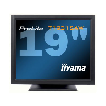 "Ecran PC iiyama 19"" LCD Tactile - ProLite T1931SAW-B1 1280 x 1024 - Tactile - 5 ms - Format 4/3 - Noir"