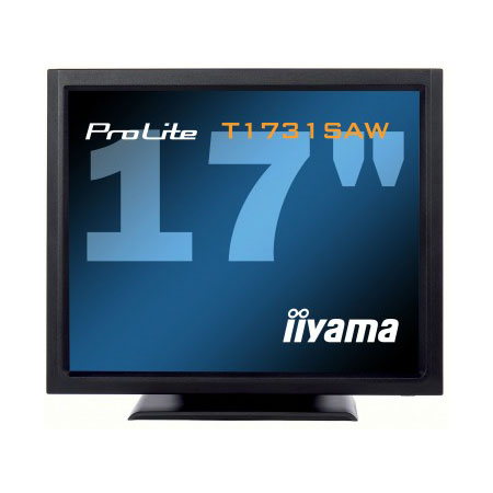 "Ecran PC iiyama 17"" LCD Tactile - ProLite T1731SAW-B1 1280 x 1024 - Tactile - 5 ms - Format 4/3 - Noir"