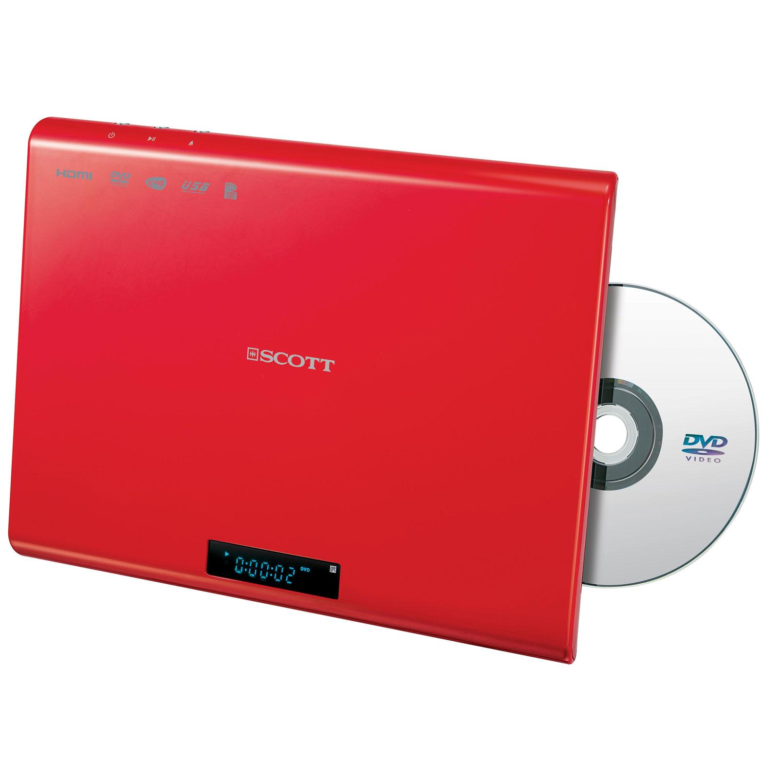scott dmx 25 rouge lecteur dvd scott sur. Black Bedroom Furniture Sets. Home Design Ideas