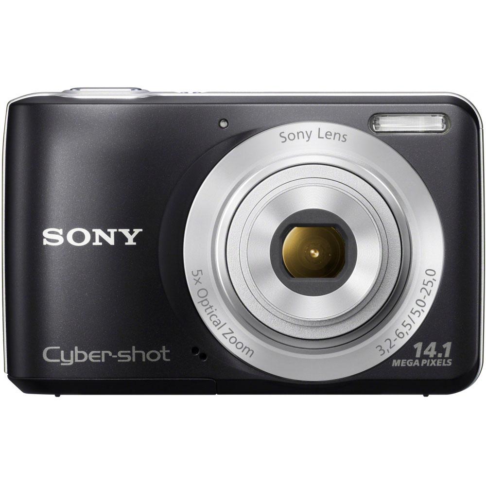 Appareil photo numérique Sony Cyber-shot S5000 Noir Appareil photo 14 MP - Zoom 5x