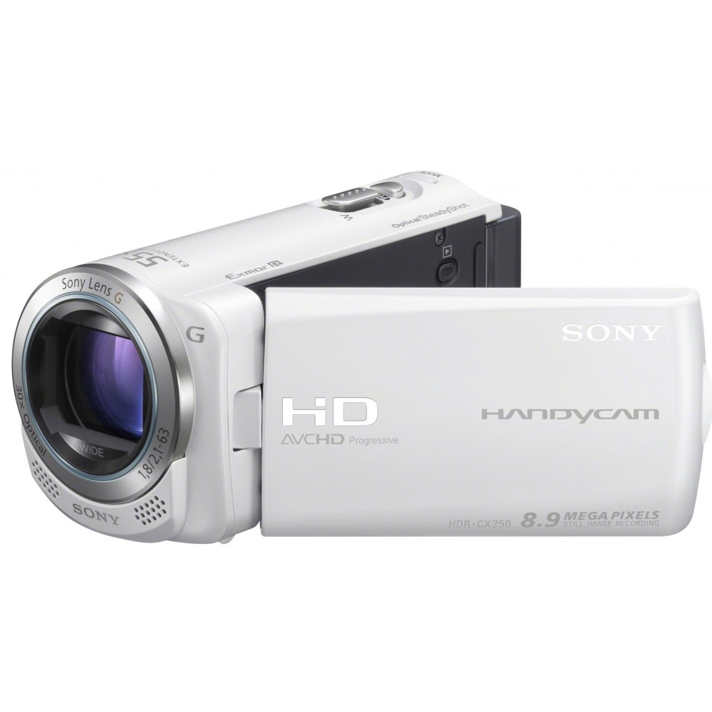 Sony hdr cx250 blanc cam scope num rique sony sur for Housse camescope sony