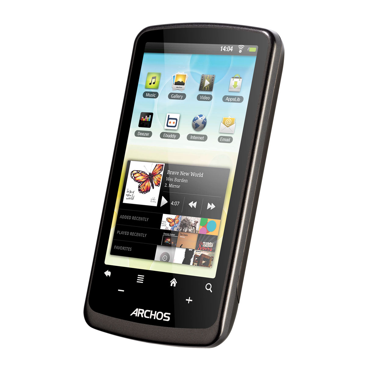 archos 35 internet tablet 4 go tablette tactile archos. Black Bedroom Furniture Sets. Home Design Ideas