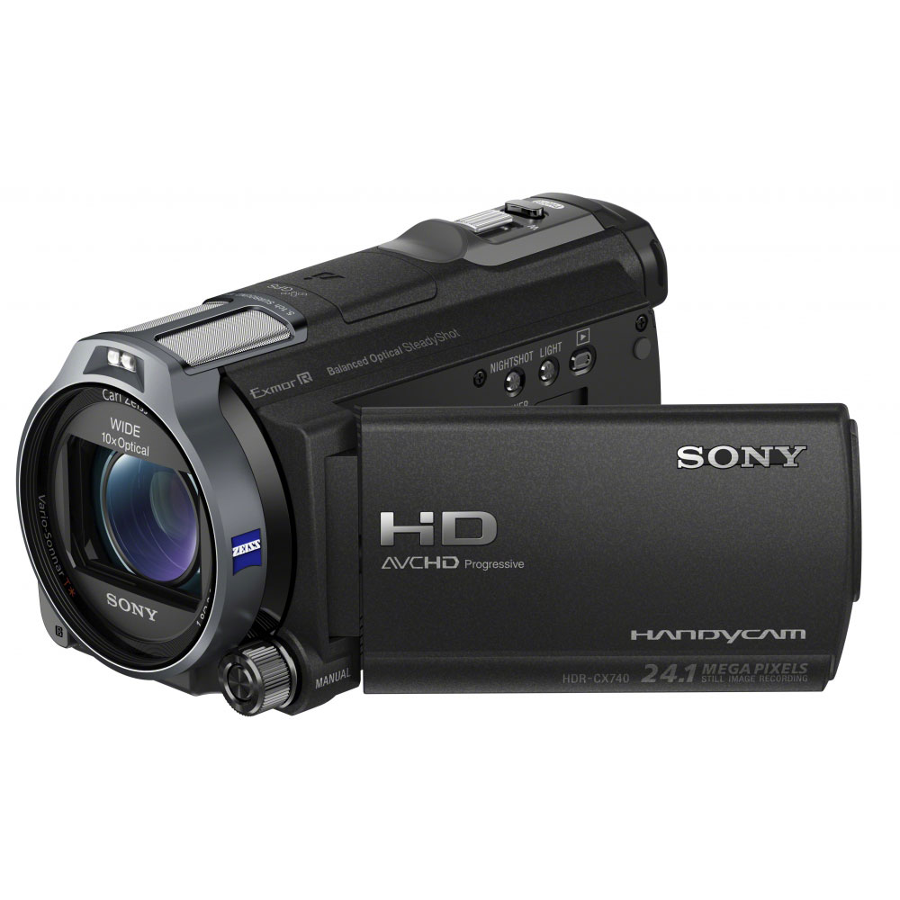 sony hdr cx740v noir cam scope num rique sony sur. Black Bedroom Furniture Sets. Home Design Ideas
