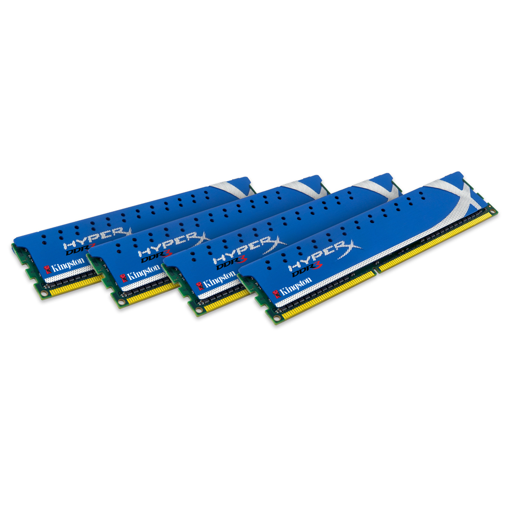 Mémoire PC Kingston HyperX Genesis 16 Go (4x 4Go) DDR3 1600 MHz XMP Kingston XMP 16 Go (kit 4x 4 Go) DDR3-SDRAM PC3-12800 CL9 - KHX1600C9D3K4/16GX (garantie 10 ans par Kingston)