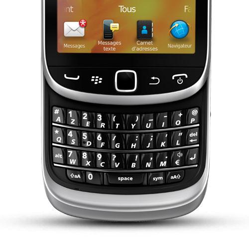 blackberry torch 9810 jennings azerty noir mobile smartphone blackberry sur. Black Bedroom Furniture Sets. Home Design Ideas
