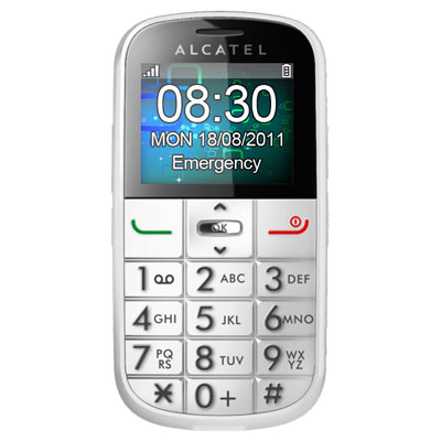 alcatel ot 282 blanc mobile smartphone alcatel sur. Black Bedroom Furniture Sets. Home Design Ideas