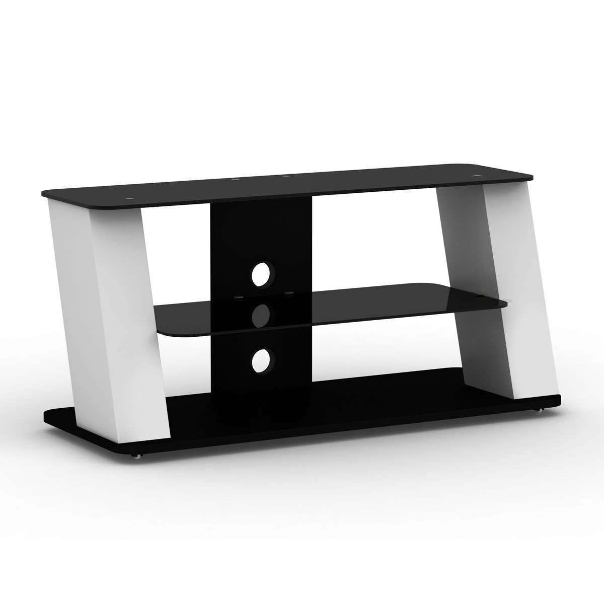 elmob alexa al 110 04 blanc meuble tv elmob sur. Black Bedroom Furniture Sets. Home Design Ideas