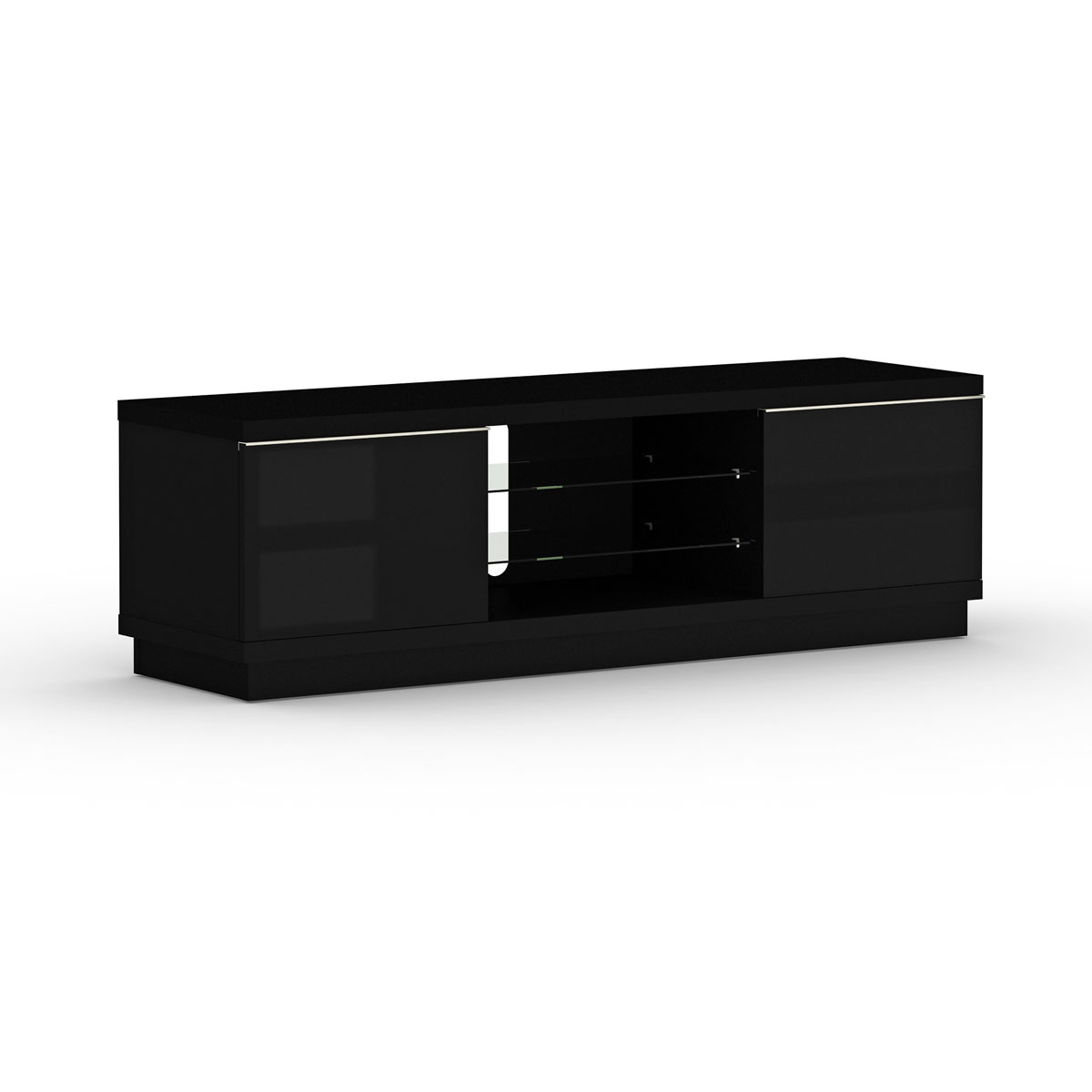 elmob harmony ha 160 01 noir meuble tv elmob sur. Black Bedroom Furniture Sets. Home Design Ideas