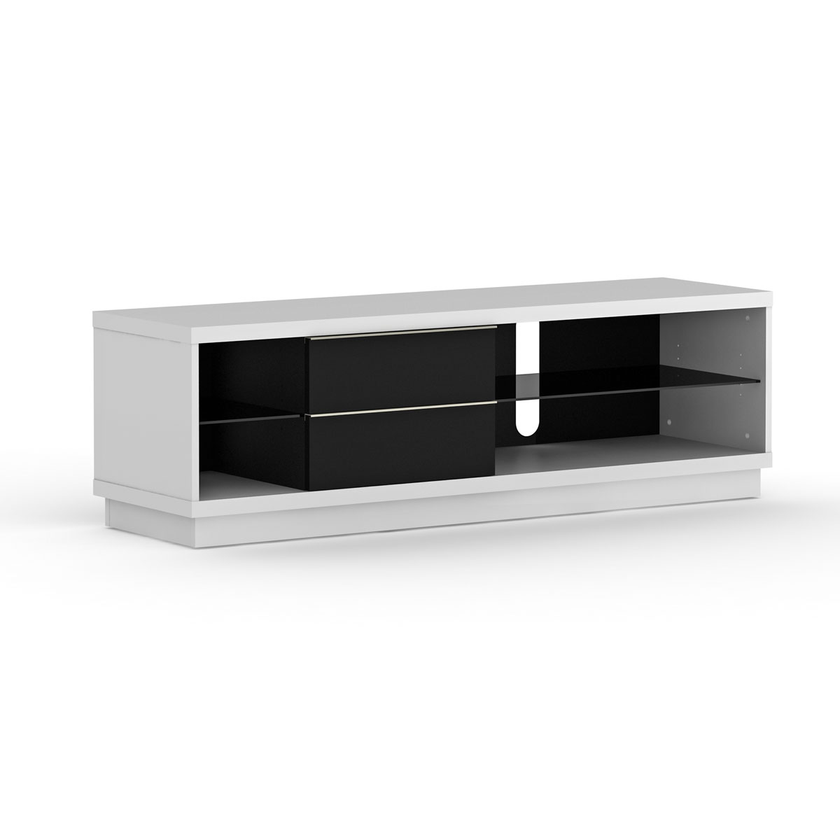 elmob harmony ha 160 03 blanc meuble tv elmob sur. Black Bedroom Furniture Sets. Home Design Ideas