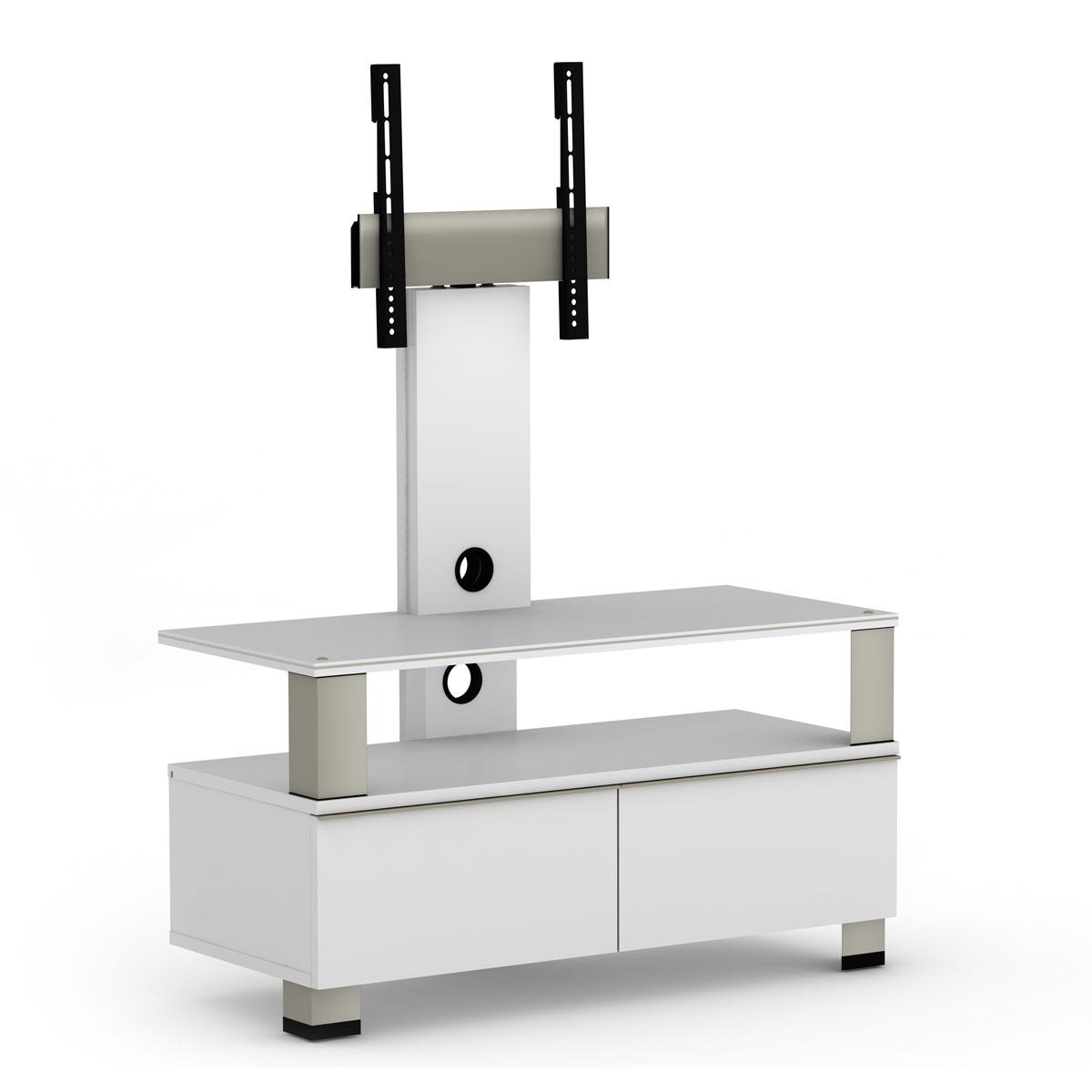 elmob tura tu 095 01f blanc meuble tv elmob sur. Black Bedroom Furniture Sets. Home Design Ideas