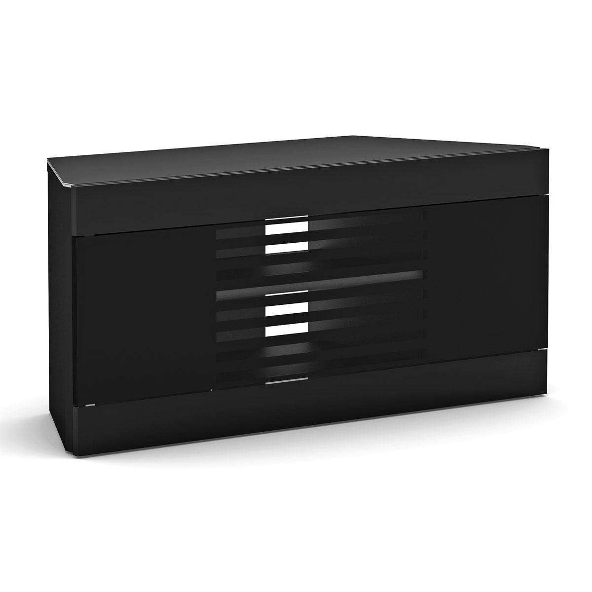 Elmob linos li 110 07 noir meuble tv elmob sur ldlc - Meuble tv pour ecran plat ...