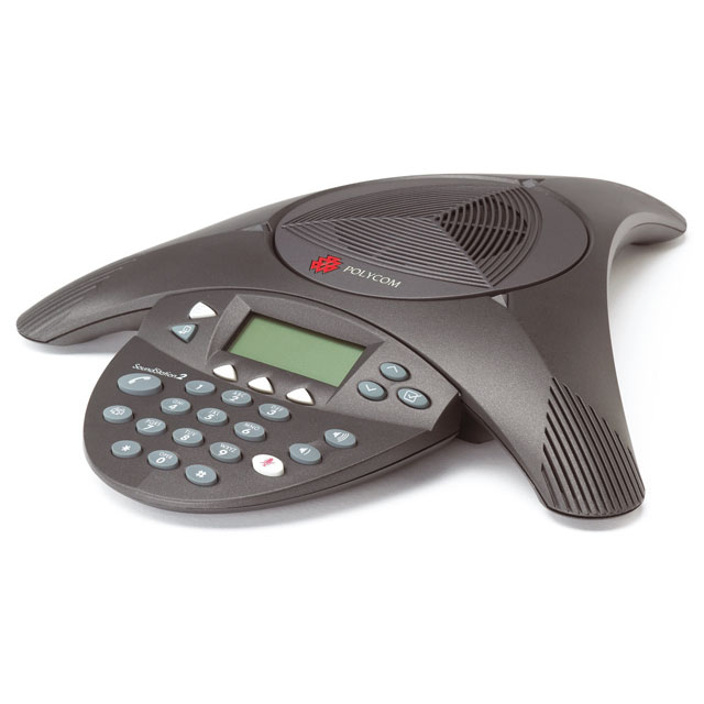Téléphone filaire Polycom SoundStation 2 (non extensible) Téléphone de conférence