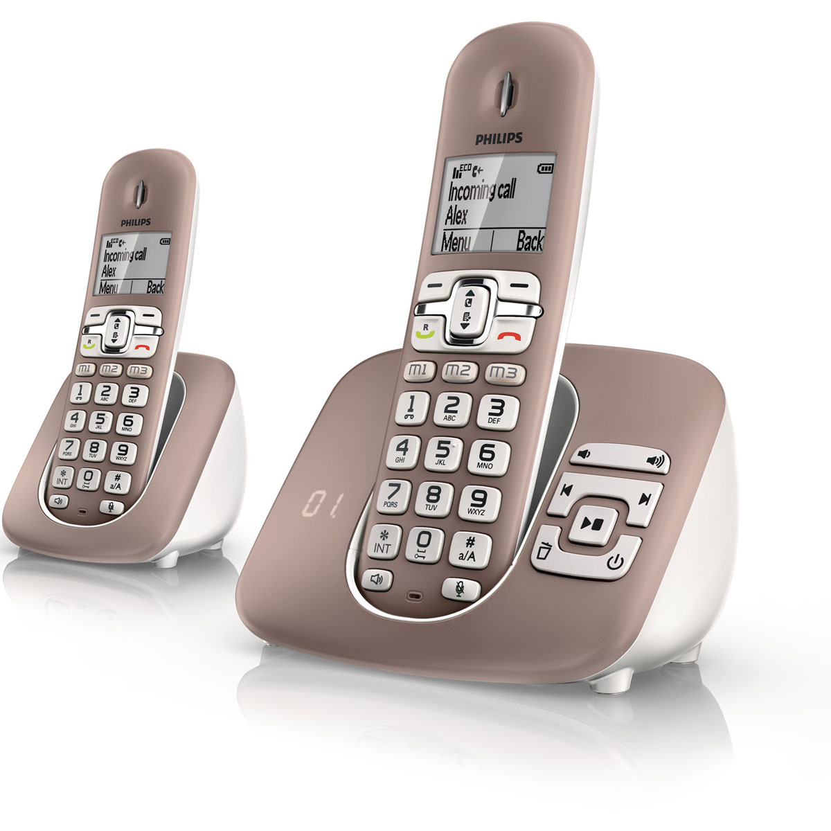 philips xl3952 t l phone sans fil philips sur. Black Bedroom Furniture Sets. Home Design Ideas