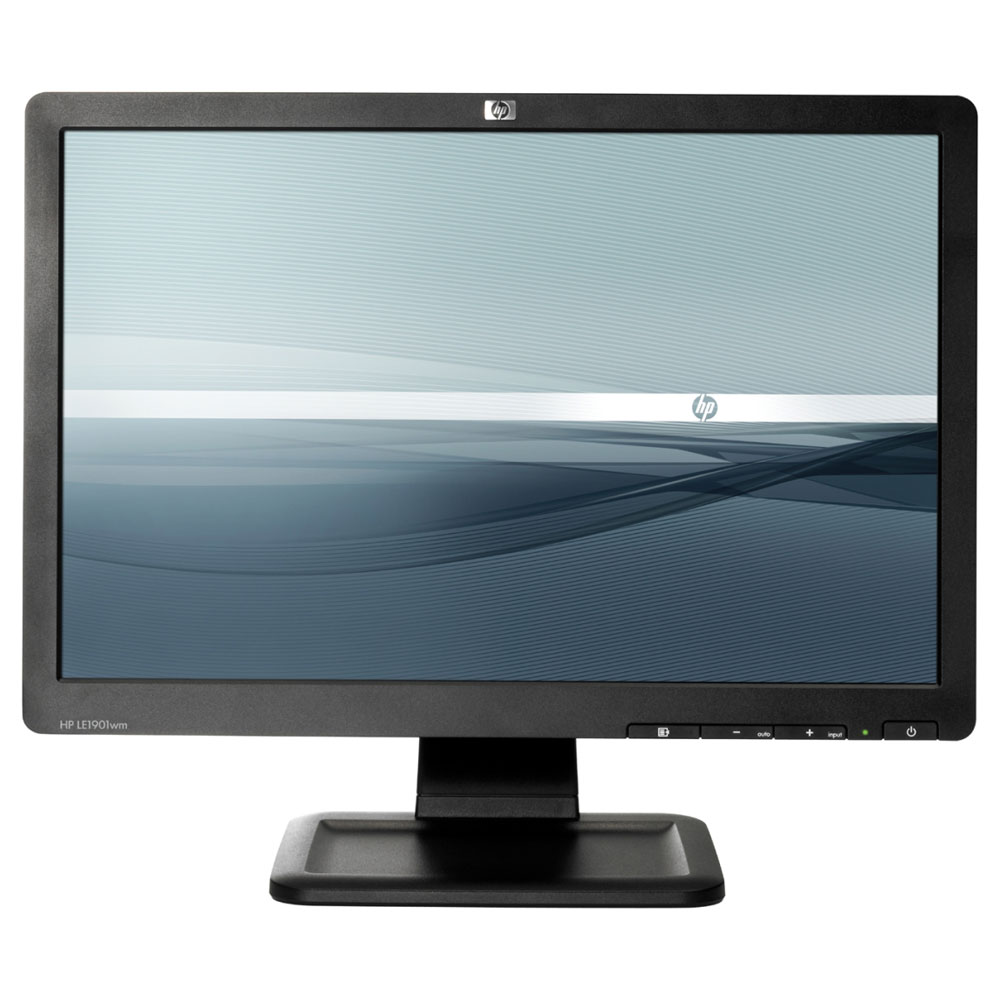 Hp 19 lcd le1901w ecran pc hp sur for Ecran ordinateur photo