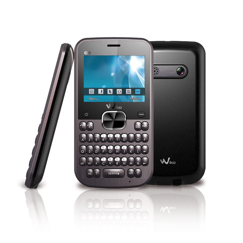 wiko fuzio gris mobile smartphone wiko sur. Black Bedroom Furniture Sets. Home Design Ideas