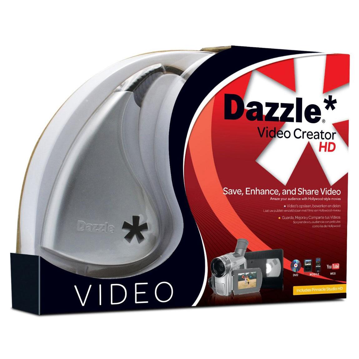 Carte d'acquisition Dazzle Video Creator HD Carte d'acquisition vidéo