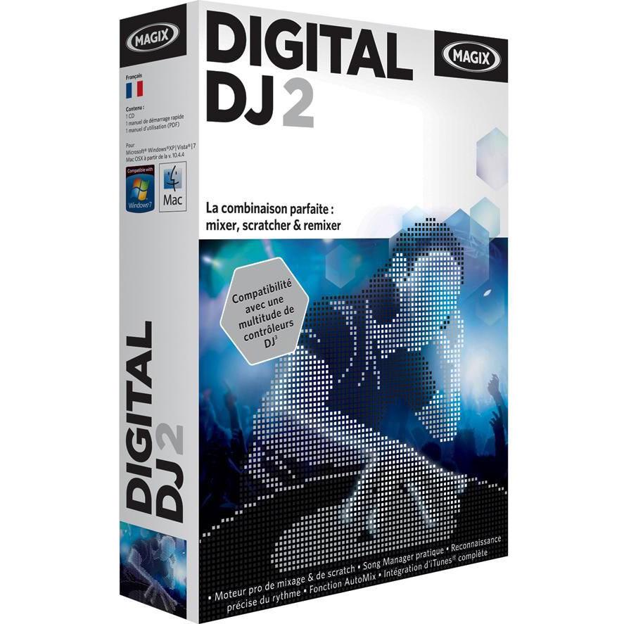 magix digital dj 2 fran ais pc mac logiciel musique mp3 magix sur. Black Bedroom Furniture Sets. Home Design Ideas