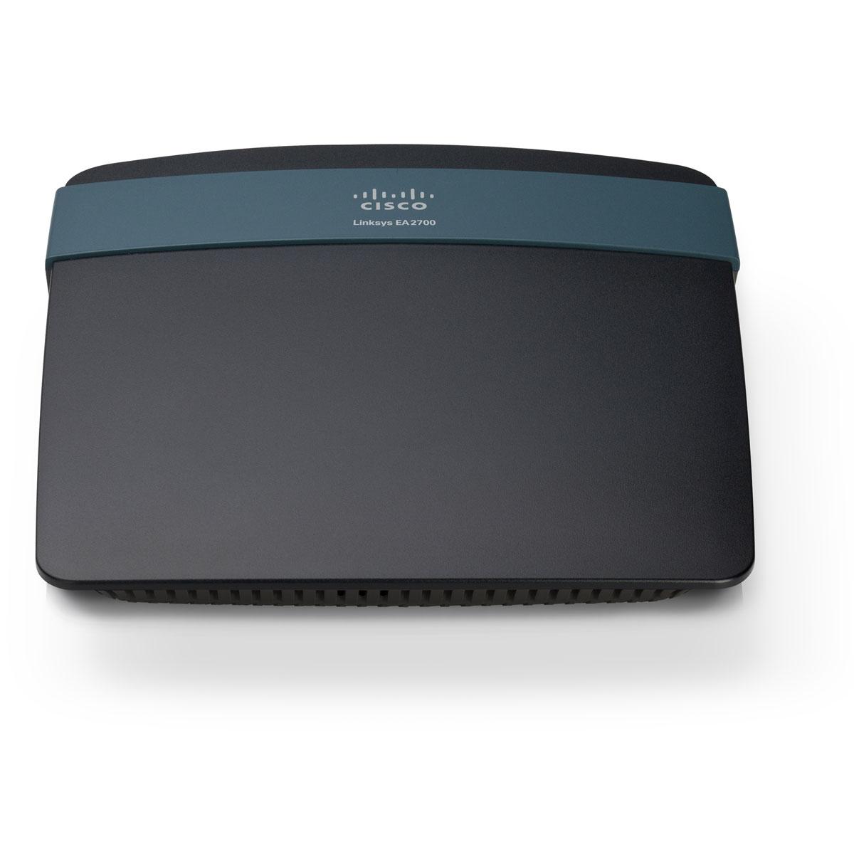 Modem & routeur Linksys EA2700 Routeur haut débit sans fil N 300 Mbps Dual band