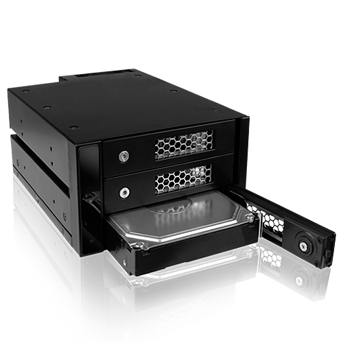 icy box ib 543ssk rack hdd interne icy box sur. Black Bedroom Furniture Sets. Home Design Ideas