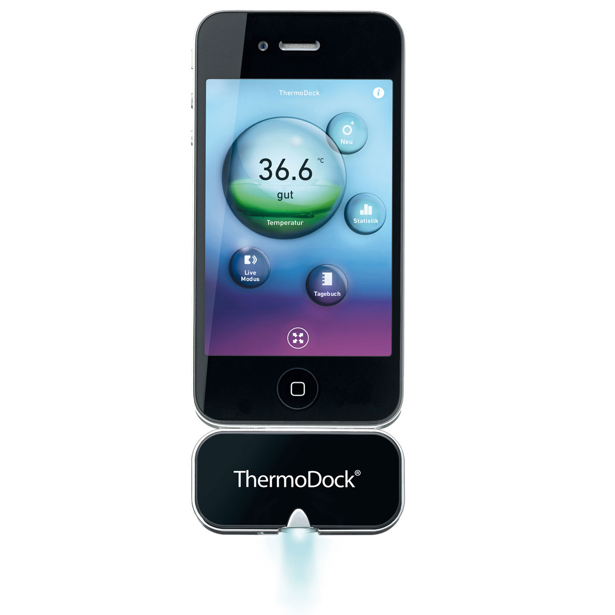 Thermometre Iphone