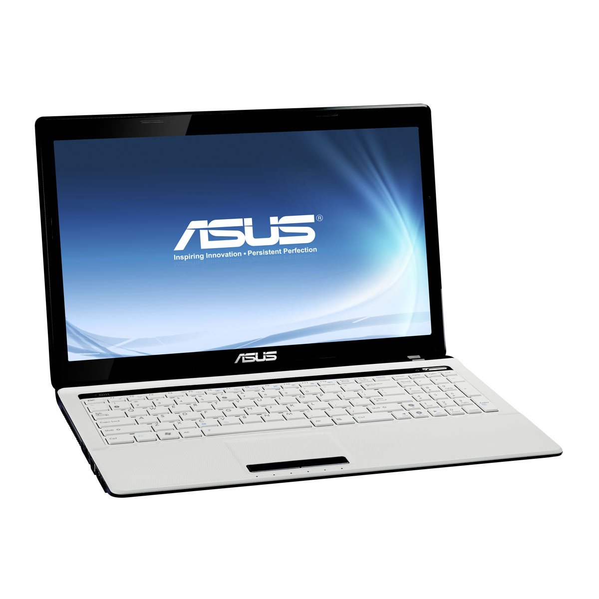 "PC portable ASUS K53SD-SX856V Blanc laqué Intel Core i3-2350M 4 Go 500 Go 15.6"" LED NVIDIA GeForce GT 610M Graveur DVD Wi-Fi N/Bluetooth Webcam Windows 7 Premium 64 bits (garantie constructeur 2 ans)"