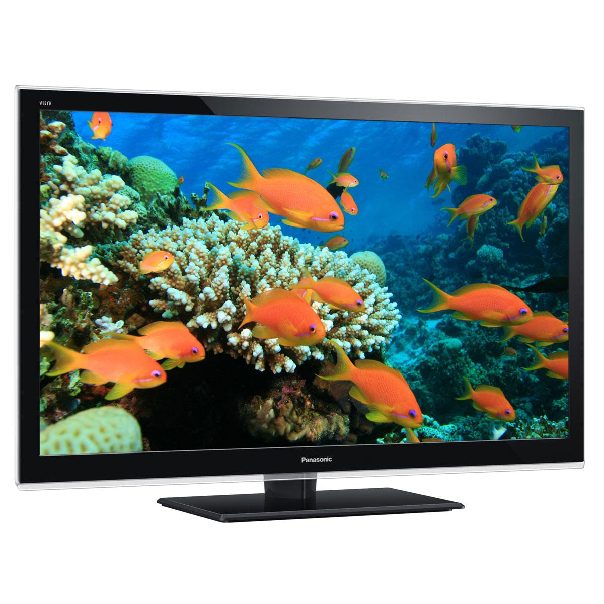 """TV Panasonic TX-L60ET5E Téléviseur LED IPS 3D Full HD 60"""" (152 cm) 16/9 - 1920 x 1080 pixels - TNT et Câble HD - HDTV 1080p - DLNA - Wi-Fi - 500 Hz - 4 paires de lunettes 3D"""