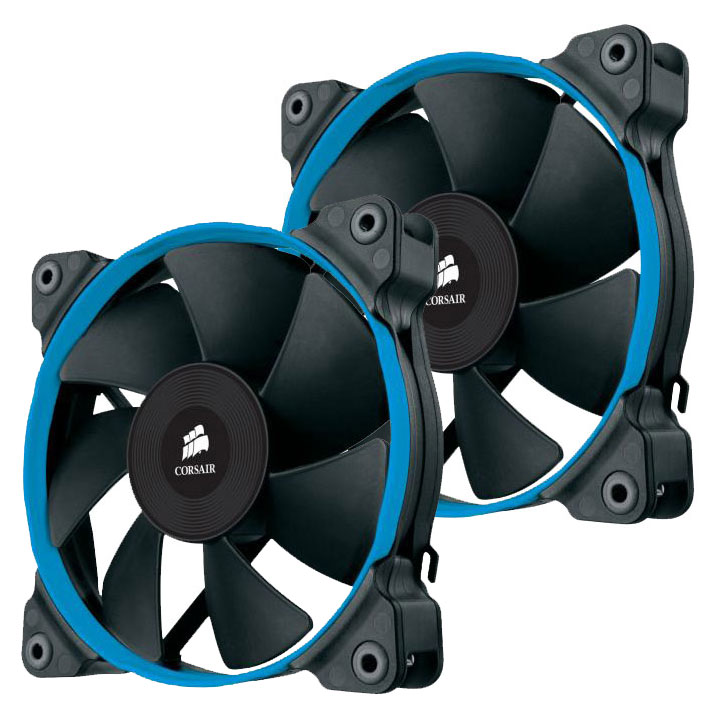Ventilateur boîtier Corsair Air Series SP120 High Performance Edition - Twin Pack Ventilateur de boîtier 120 mm (pack de 2)