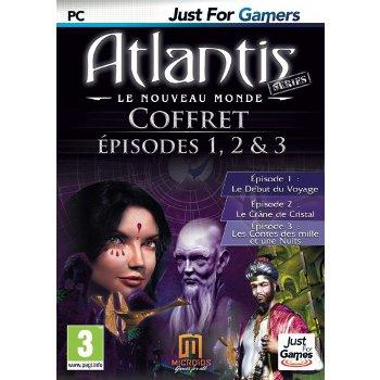 Jeux PC Atlantis épisodes 1,2,3 (PC) Atlantis épisodes 1,2,3 (PC)