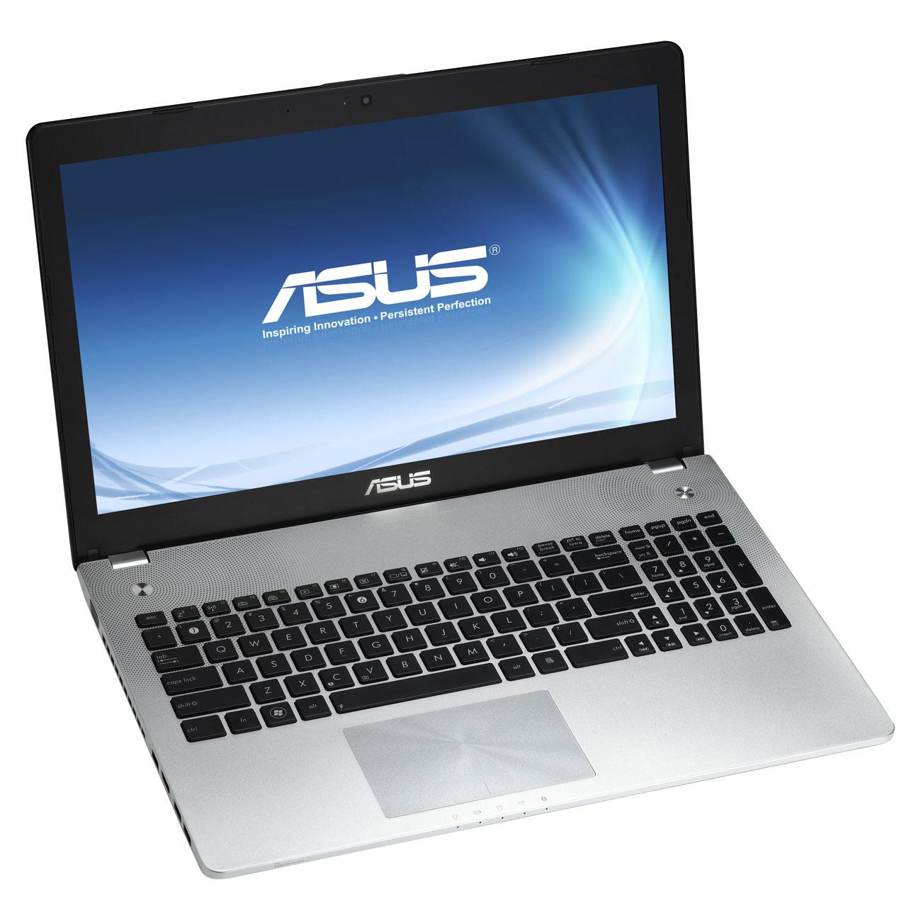 """PC portable ASUS N56VB-S4191H Intel Core i7-3630M 4 Go 750 Go 15.6"""" LED NVIDIA GeForce GT 740M Graveur DVD Wi-Fi N/Bluetooth Webcam Windows 8 64 bits (garantie constructeur 1 an)"""