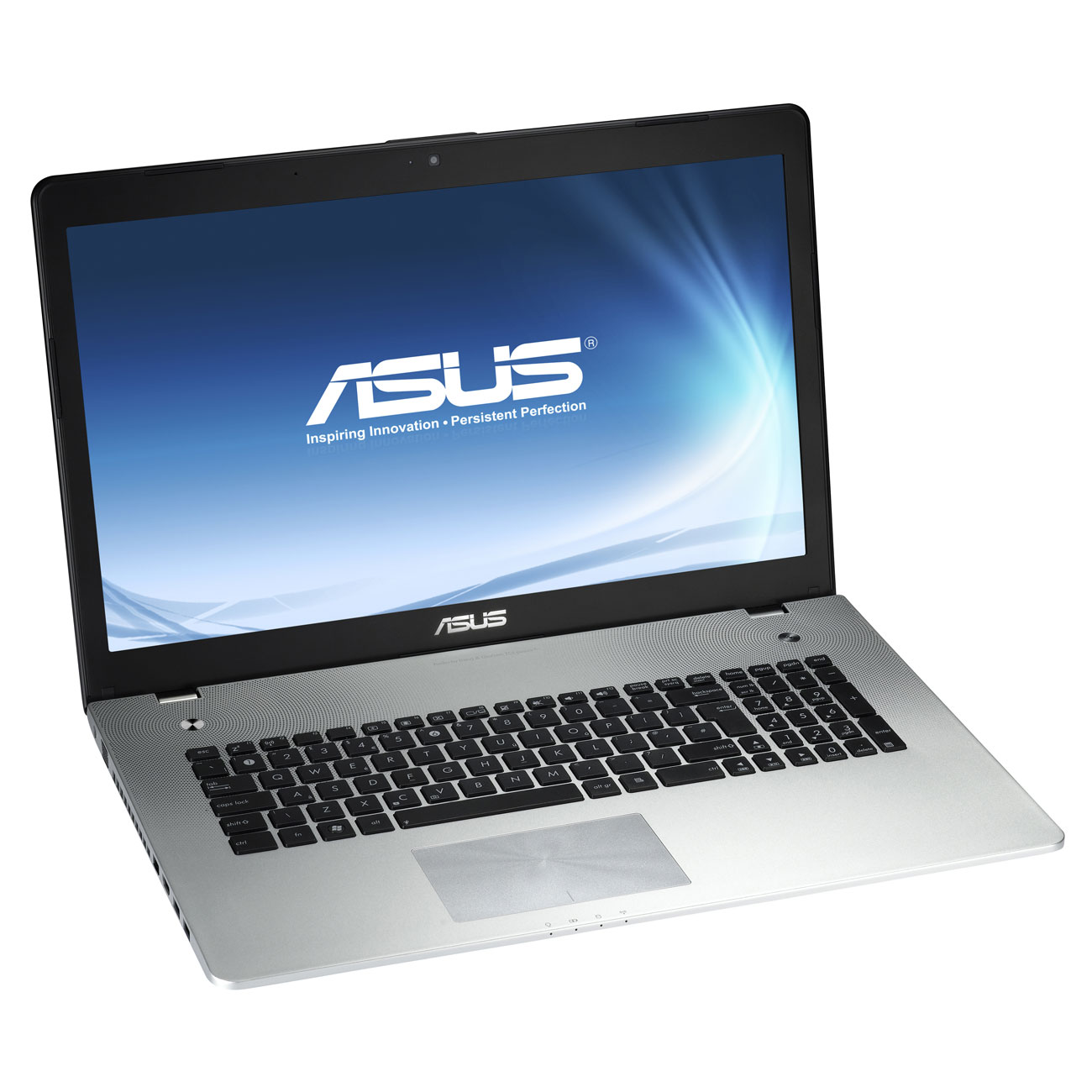 "PC portable ASUS N76VB-T4166H Intel Core i7-3630QM 6 Go 750 Go 17.3"" LED NVIDIA GeForce GT 740M Graveur DVD Wi-Fi N/Bluetooth Webcam Windows 8 64 bits (garantie constructeur 1 an)"