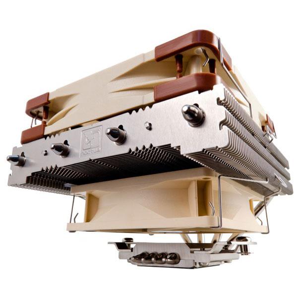 Ventilateur processeur Noctua NH-L12 (pour sockets Intel 775/1155/1156/1366/2011 et AMD AM2/AM2+/AM3/AM3+/FM1/FM2/FM2+) Ventilateur processeur Low-profile pour boîtier HTPC