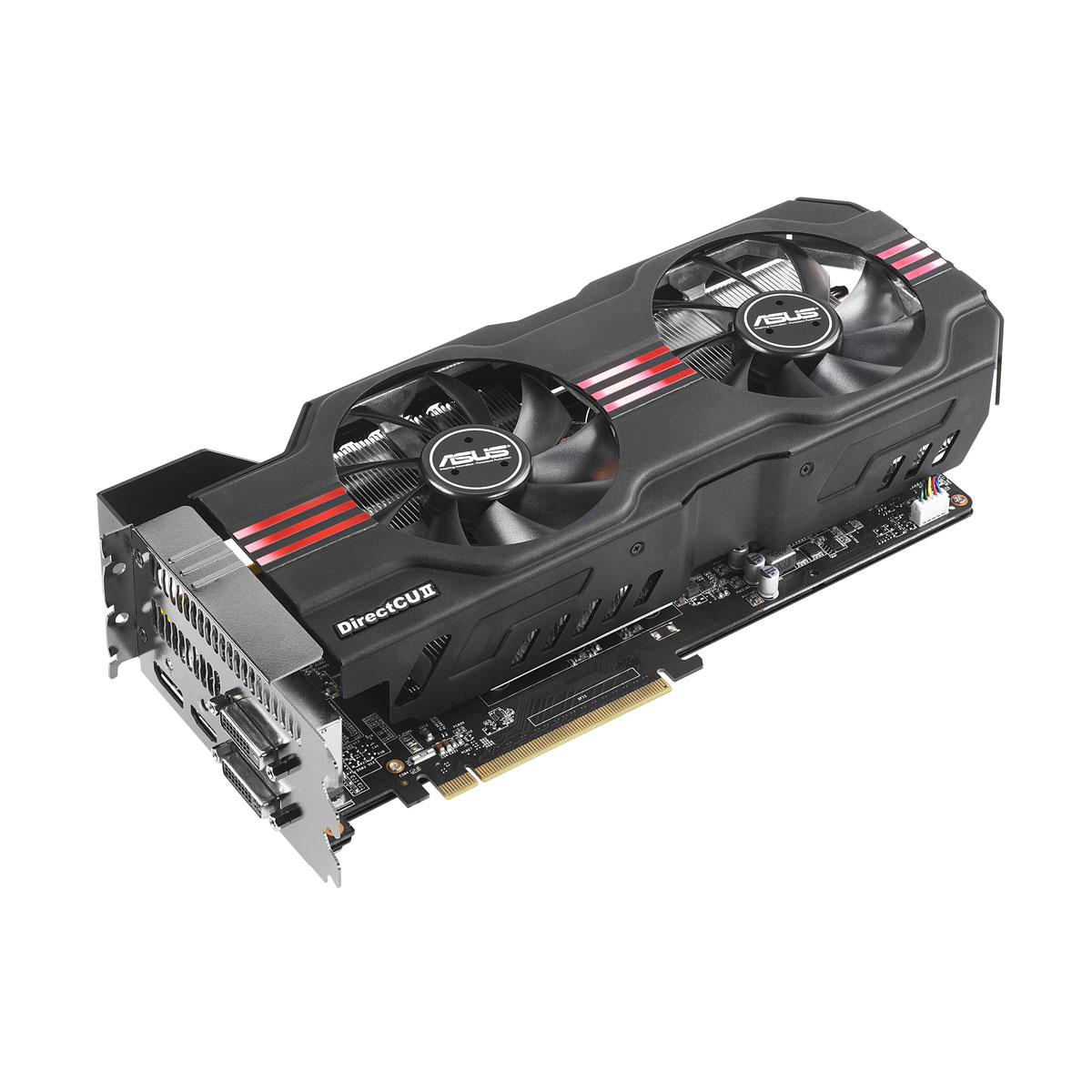 Carte graphique ASUS GTX680-DC2-2GD5 2 Go 2048 Mo Dual DVI/HDMI/DisplayPort - PCI Express (NVIDIA GeForce avec CUDA GTX 680)